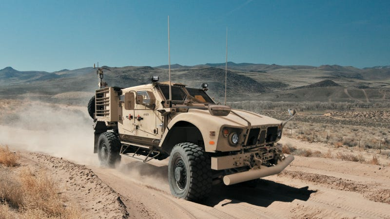 Illustration for article titled The Future Of Military Trucks Is File-Sharing