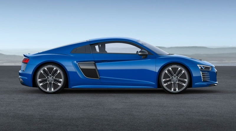 An Electric Audi R8 E Tron Is A Thing That Will Actually