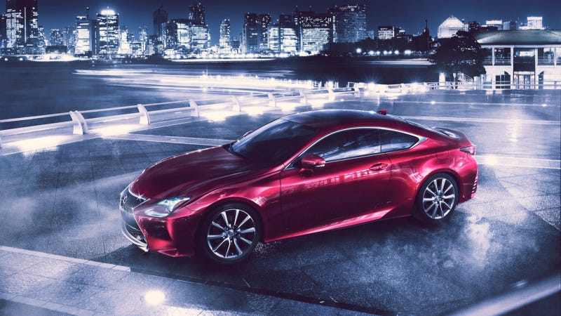 Illustration for article titled All-New Lexus RC Coupe To Make World Debut At The Tokyo Motor Show