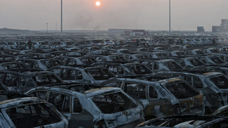 Illustration for article titled Volkswagen Lost Thousands Of New Cars To The Chinese Fireball