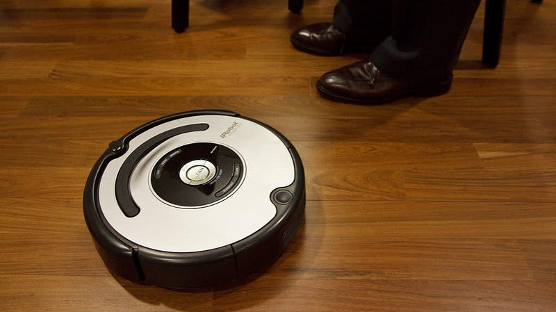 Illustration for article titled Meet the Roomba that swears when it bumps into stuff