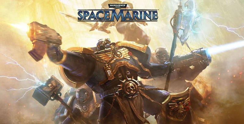 Illustration for article titled Warhammer 40K: Space Marine Impressions
