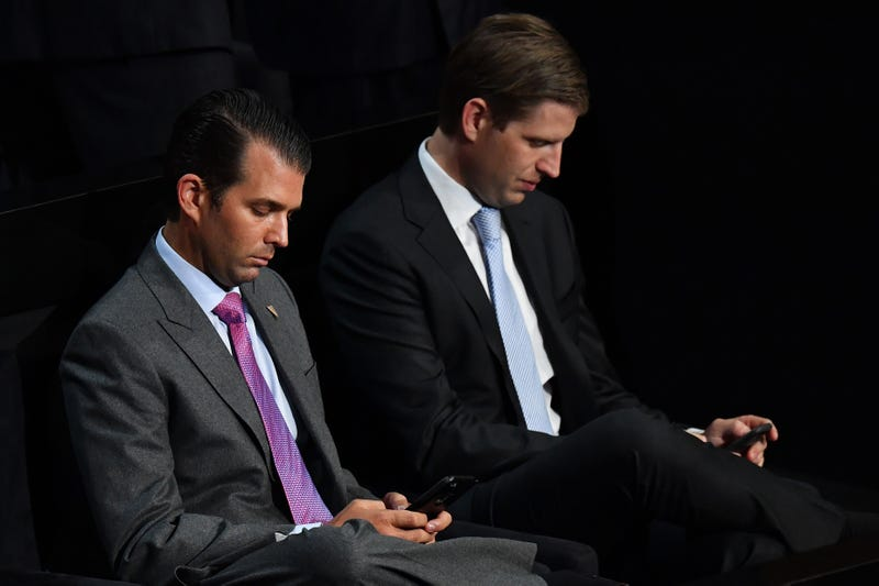 Donald Trump Jr. and his lazy vampire brother, Eric Trump
