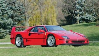Illustration for article titled 283 Mile Ferrari F40 sells for $710,000