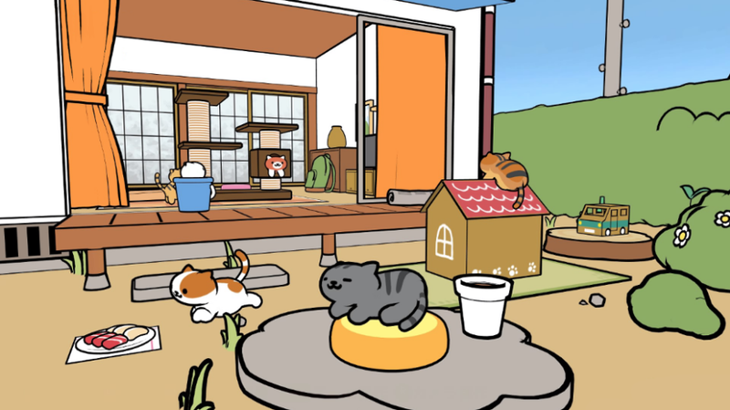 Illustration for article titled People Cannot Believe How Cute Neko Atsume VR Is