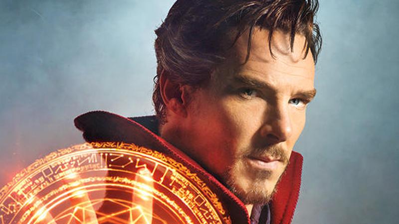 Illustration for article titled Primera imagen de Benedict Cumberbatch en el papel de Doctor Strange
