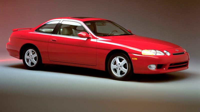 Illustration for article titled Motor1 - Worst Sports Cars: Lexus SC