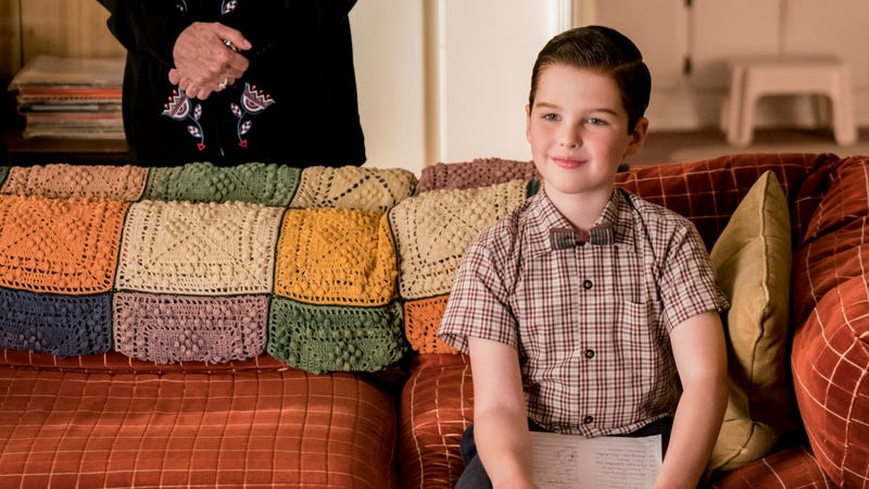 We may well per chance perchance now no longer ever be free of Young Sheldon - The A.V. Club