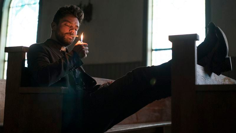 Illustration for article titled AMC's Preacher remains faithful to the spirit of its deviant source material