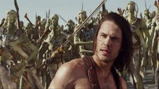 Illustration for article titled Thark Yeah! 30 John Carter screencaps reveal the secrets of Mars