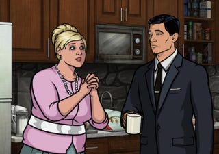 Illustration for article titled On This Week's Archer, It's A Bloody Great Sterling And Pam Road Trip