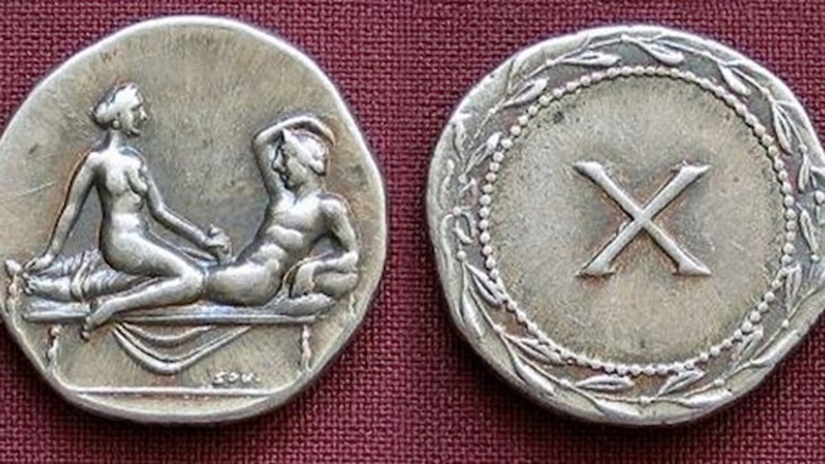 Ancient Roman coins depict sundry sexual acts, but what were
