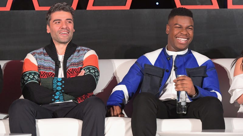 Illustration for article titled John Boyega and Oscar Isaac aren't too interested in a Disney+ spin-off for Finn and Poe