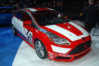 Illustration for article titled Ford Focus Touring Car Concept