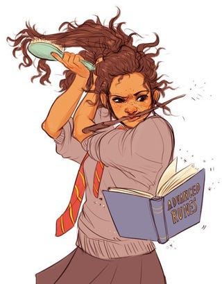 Illustration for article titled Hermione Granger as a Woman of Color