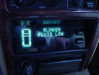 Illustration for article titled Get yer blinker fluid