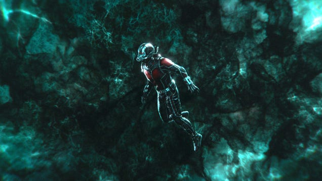 Ant-Man & The Wasp Concept Art Shows the Quantum Realm City We Never Got to See
