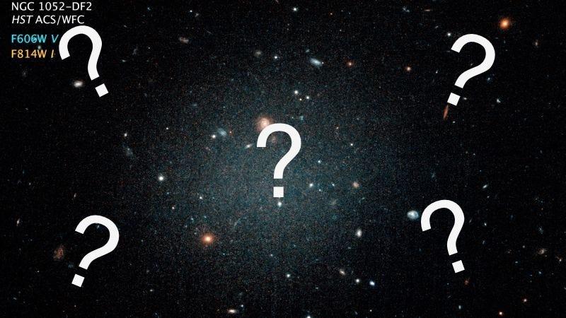 photo image Heated Debate Surrounds Galaxy Seeming to Lack Dark Matter