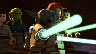 Illustration for article titled Jedi Attack in a New LEGO Star Wars, plus a Goonies Reunion on TMNT