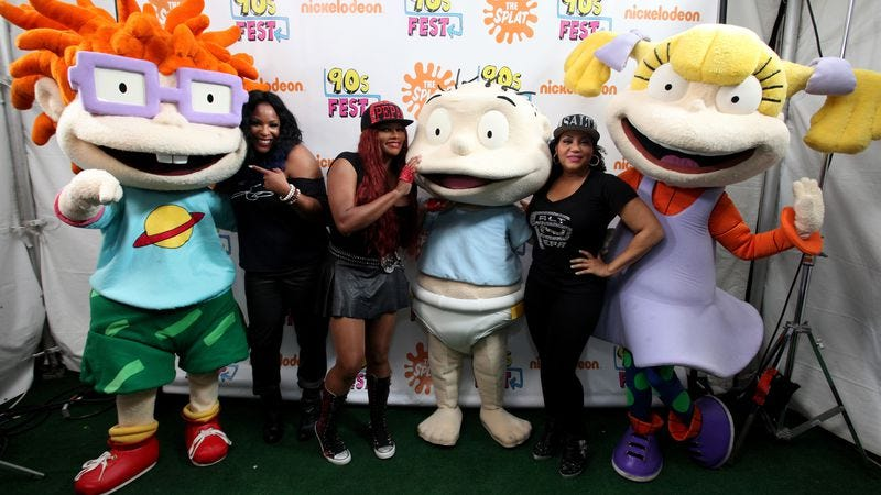 Salt N Pepa and The Rugrats (Credit: Getty Images)