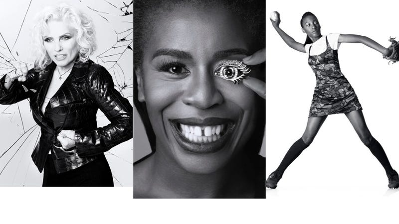 Illustration for article titled Mo'ne Davis, Uzo Aduba and Debbie Harry Kick Ass in Black and White