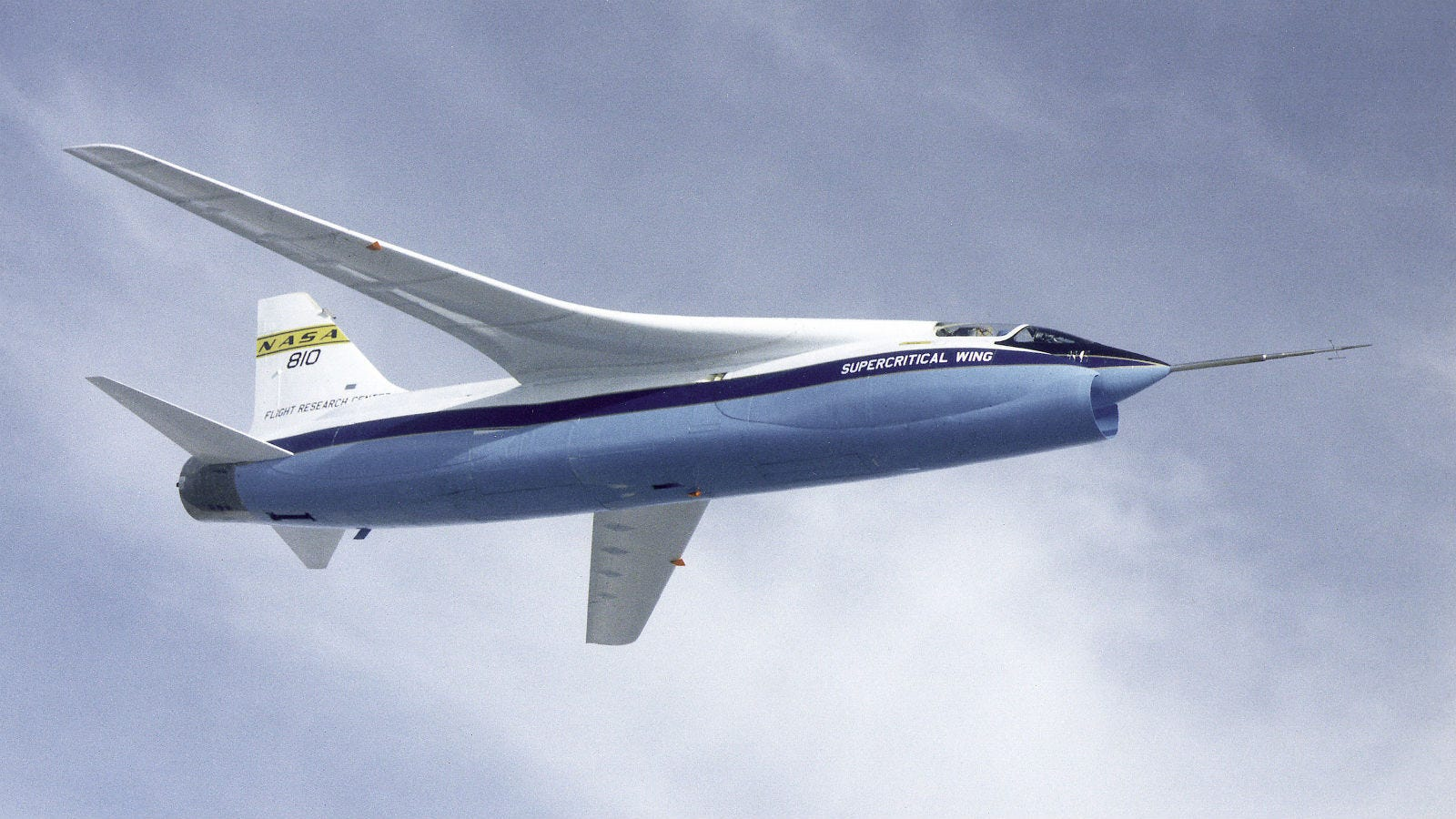 How NASA's Supercritical Wings Save Airlines Millions Every Year