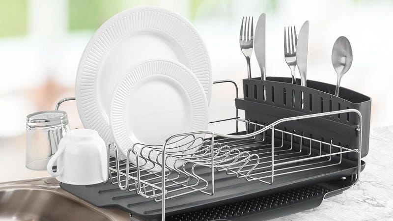 Polder Advantage System Dish Rack, $33