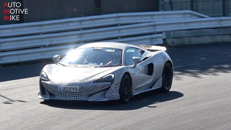 The 2019 Mclaren 600lt Sounds Great And Looks Fast