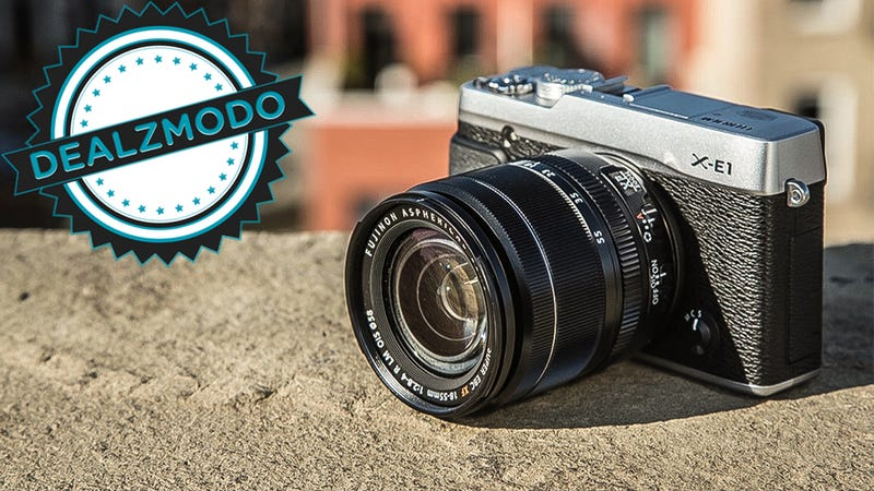 Illustration for article titled These Gorgeous Fuji Mirrorless Cameras Are Your Deal of the Day