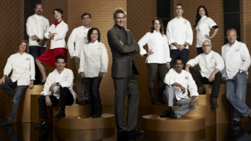 """Illustration for article titled Top Chef Masters: """"I'm With The Band"""""""