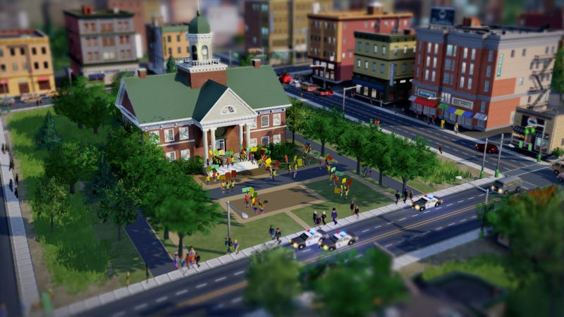 Illustration for article titled The Bustling New SimCity Makes the Old SimCity Look as Still as a Board Game