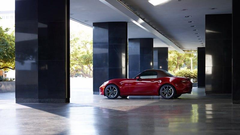 The 2019 Mazda Miata.