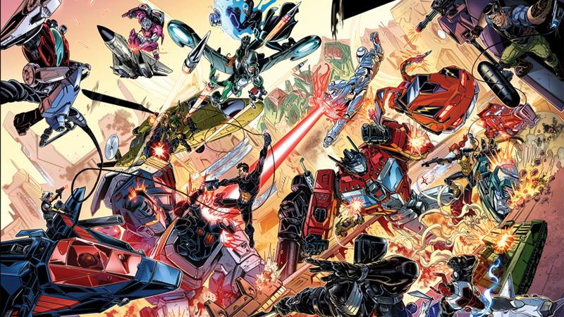 IDW Is Merging G.I. Joe, Transformers, and Its Other Hasbro Comics Into One Giant Universe