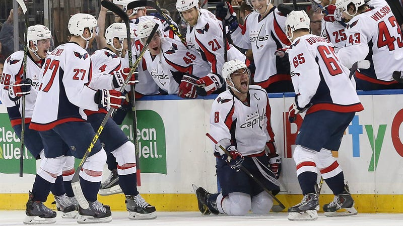 Illustration for article titled Alex Ovechkin Goes End-To-End To Score Spectacular Overtime Game-Winner