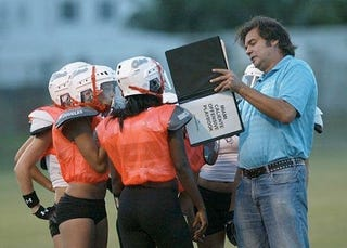 Illustration for article titled What's More Embarrassing Than Coaching Lingerie Football?