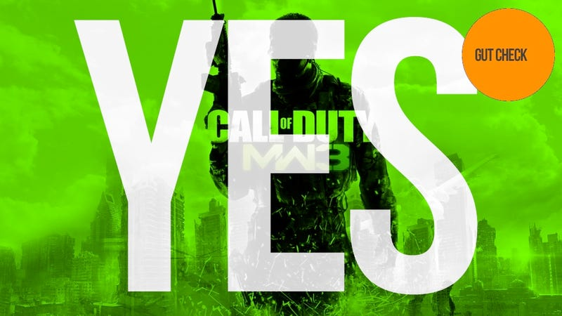 Illustration for article titled Should You Buy Call of Duty: Modern Warfare 3? Yes.