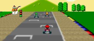 Illustration for article titled 11 KB Super Mario Kart