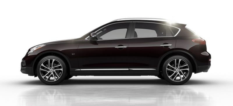Illustration for article titled What Do You Want To Know About The 2016 Infiniti QX50?