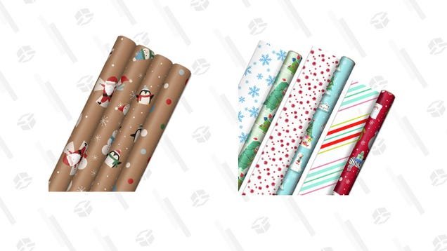 Cover the Perfect Present in Hallmark Holiday s Gift Wrap, Now 30% Off