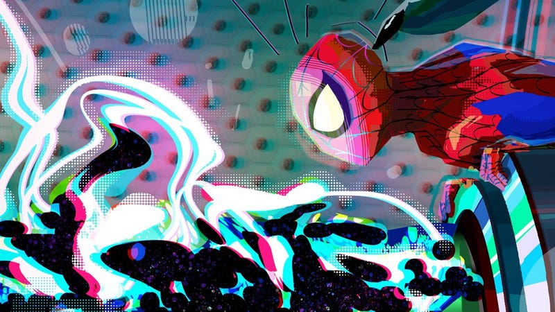 La cuenta oficial de Spider-Verse de Twitter publicó este posible teaser la semana pasadaImagen: Twitter