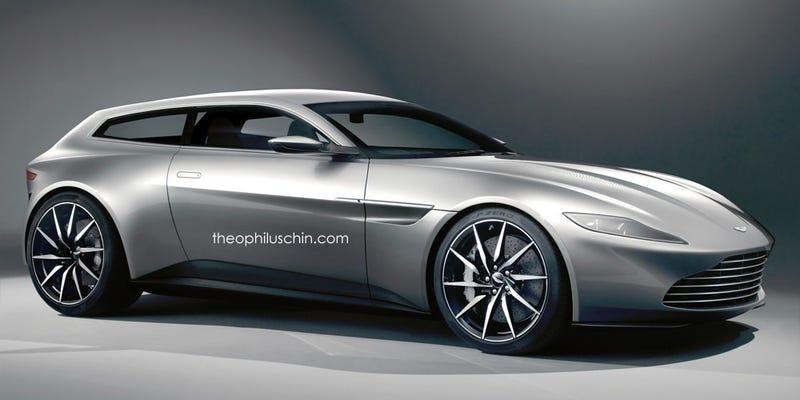 Illustration for article titled YESYESYES Aston Martin DB10 Shooting Brake
