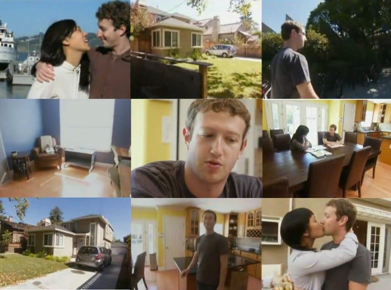Mark zuckerberg house image