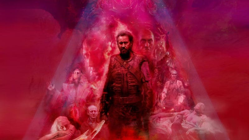 Illustration for article titled What We Liked (And What Bewildered Us) About Nic Cage's New Movie, Mandy