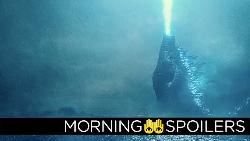 Godzilla is all of us in the mornings.