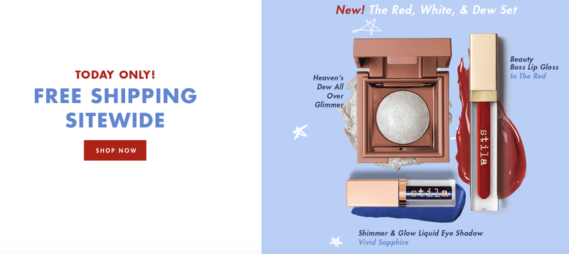20% Off Sitewide + Free Shipping | Stila Cosmetics | Promo code SHOP20