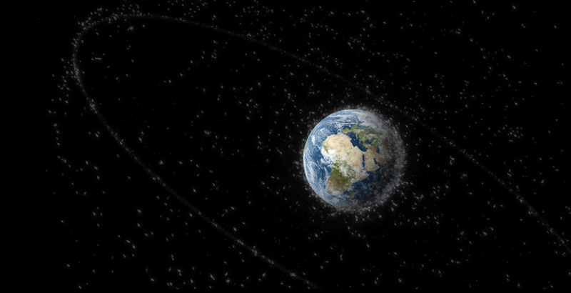 Illustration for article titled A Trash-Munching Robot Could Turn Space Junk Into Propulsion