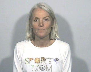 """Illustration for article titled """"Sports Mom"""" Dines, Dashes, Threatens Cop With Dildo"""