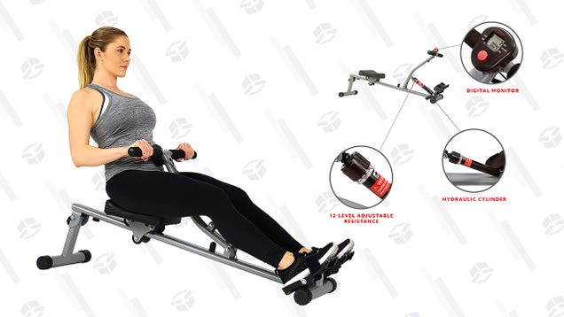 Ditch That Pricey Gym Membership and Workout Your Whole Body From Home With a Rowing Machine for as Low as $80