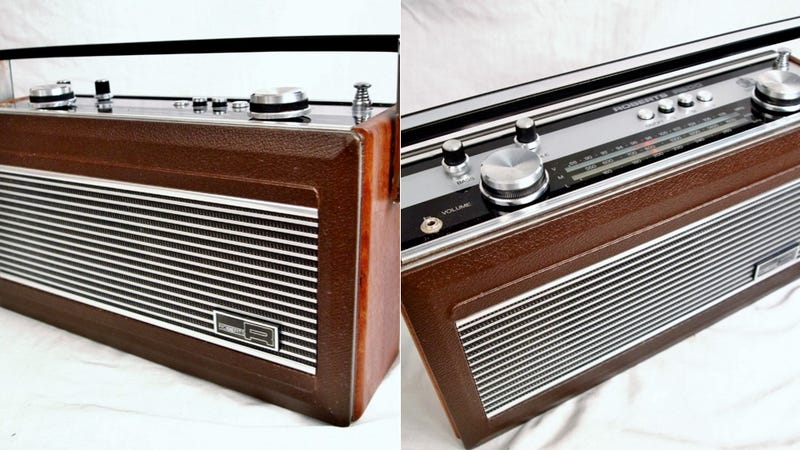 """Illustration for article titled This Beautiful 1980s Radio Looked Vintage Before """"Vintage"""" Was a Thing"""