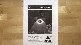 Illustration for article titled Fans Build Their own Amazing Zelda Magazine